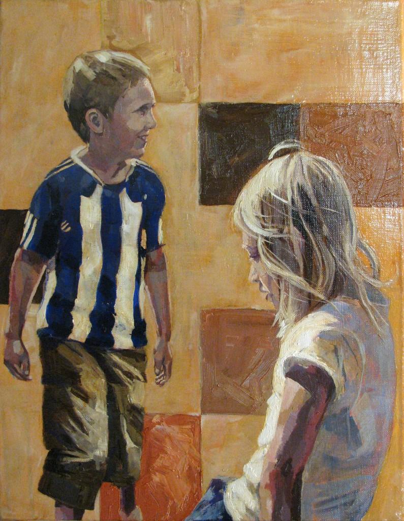 Portrait paintings